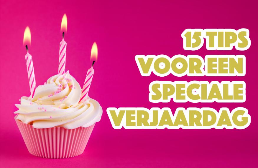 Wonderbaarlijk 15 tips voor een speciale verjaardag - Love2BeMama MJ-24