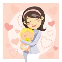 Mama van twee