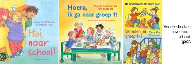 Voorleesboeken over het naar school gaan
