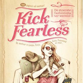 Avonturenboek over kekke fashionista voor tienermeisjes