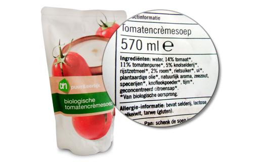 Bio tomatensoep