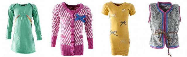 De kleding van Little Miss Juliette