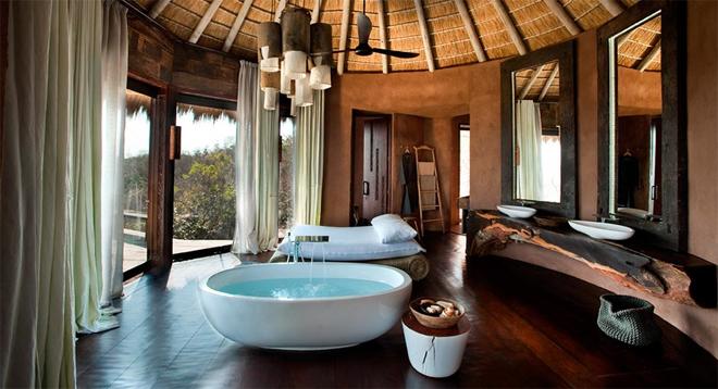 Villa Zuid Afrika : Bush villa zuid afrika badkamer u love bemama