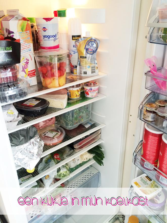 Een kijkje in mijn koelkast