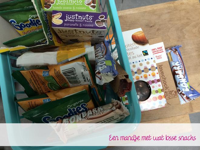 Losse snacks voor de kids en mij