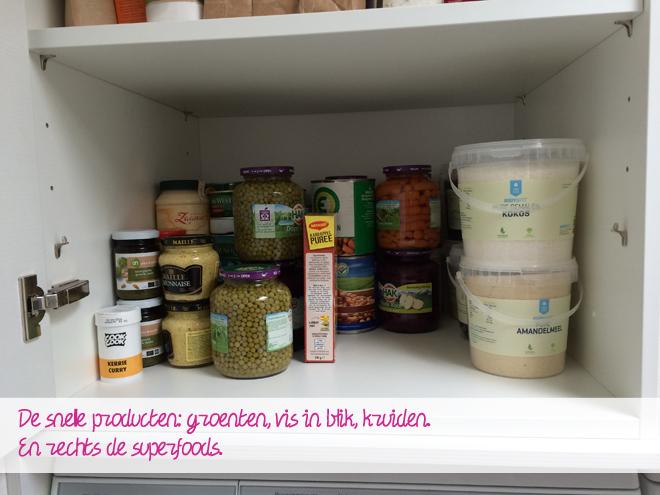 Superfoods en snelle producten