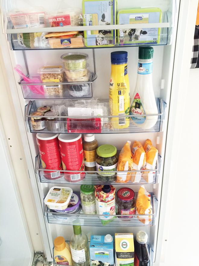 De koelkastdeur