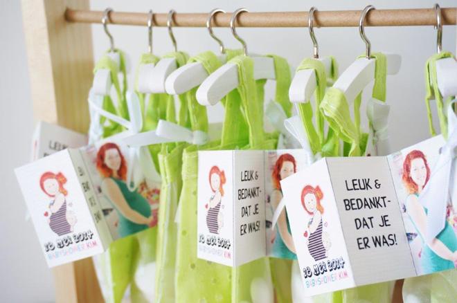 Babyshower organiseren: bedankjes babyshower