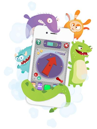 Speurtocht app voor kinderen