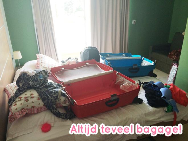 Altijd teveel bagage
