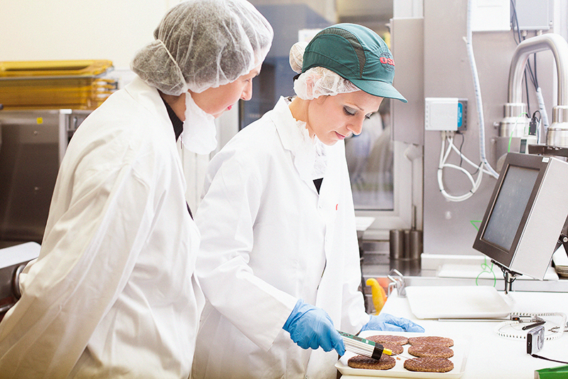 Hamburger McDonald's 100% rundvlees