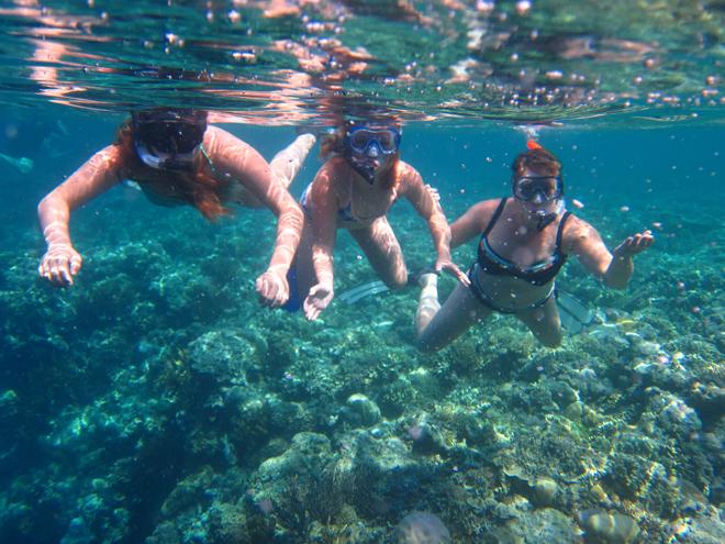 Met kinderen naar Bali