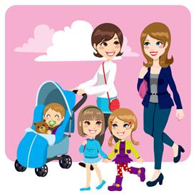 Top 10 stereotype moeders