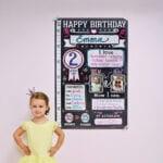 Birthday poster – emma