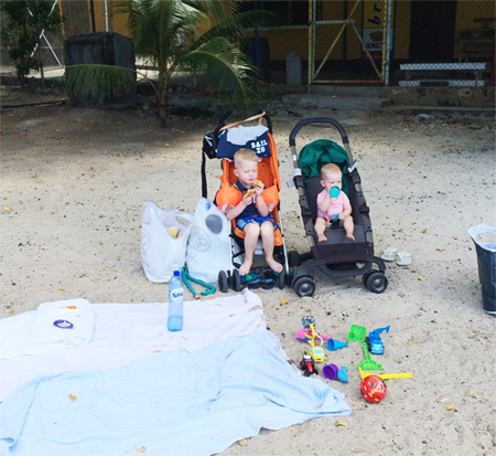 Curaçao met kids