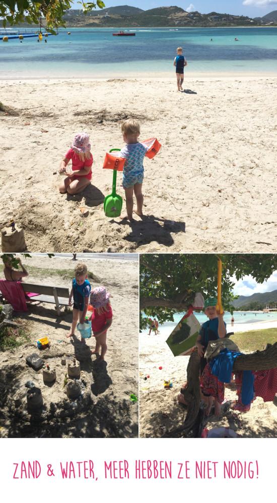 Zon, zand en water