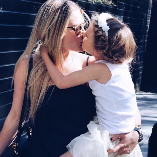 Nikkie Plessen en haar dochter