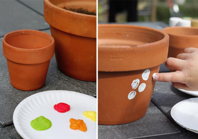Fleurige potten