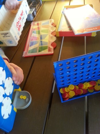 Kampeervakantie met kids spelletjes
