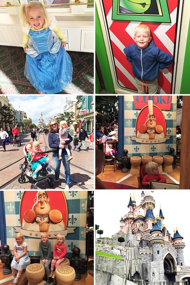 Roze hotel Disneyland Parijs