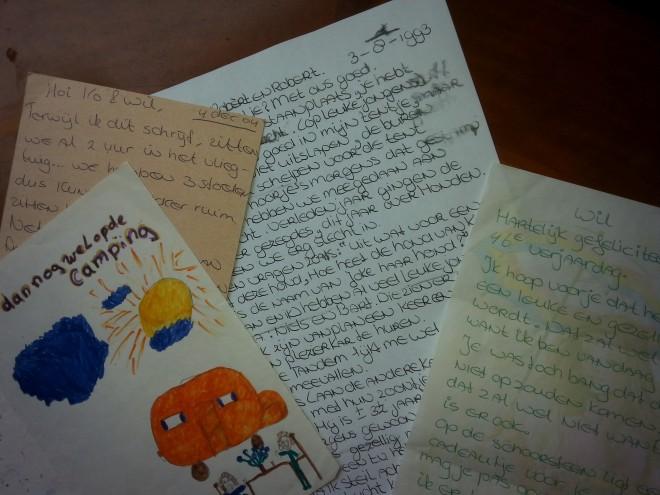 Een brief van mijzelf