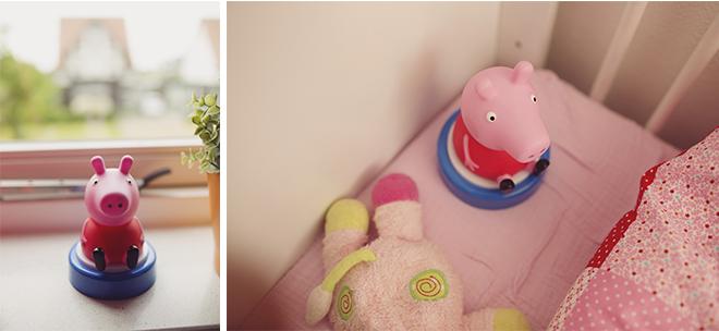 Slapen met Peppa Pig