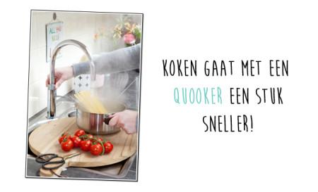 Koken gaat met een Quooker sneller