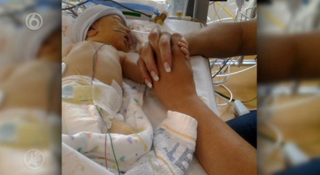 Een koortslip is gevaarlijk voor baby's