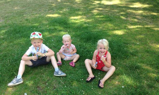Goede zonbescherming voor kinderen