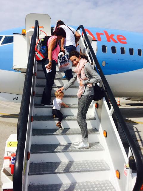 Vliegen met baby of dreumes - tips voor vliegen