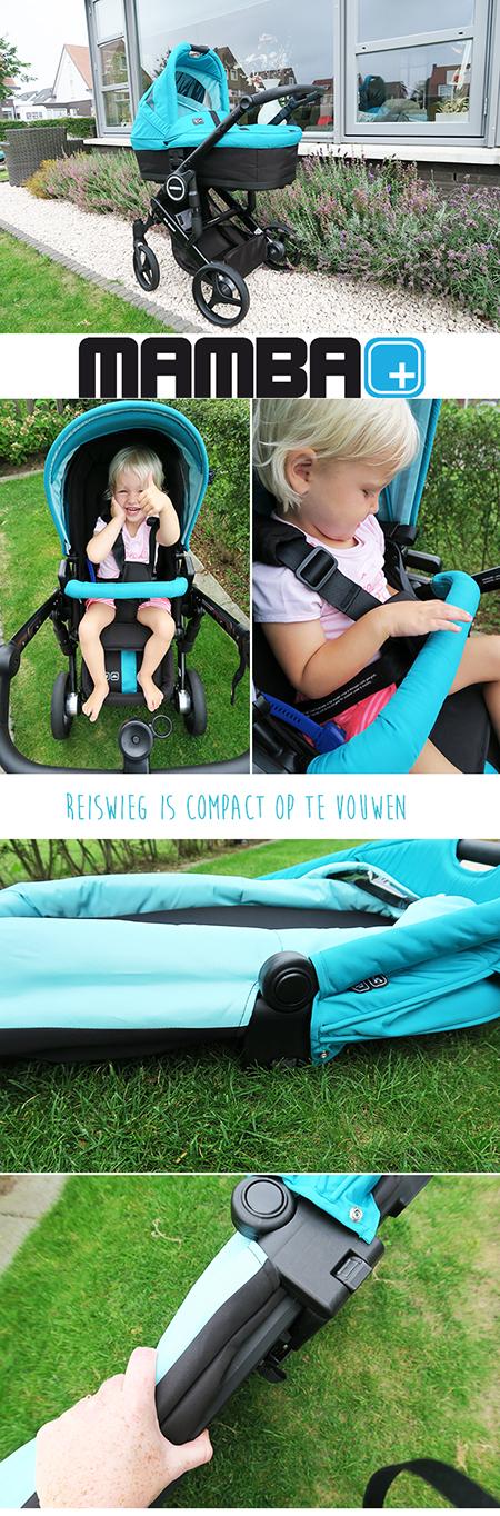De Mamba Plus kinderwagen getest voor jou