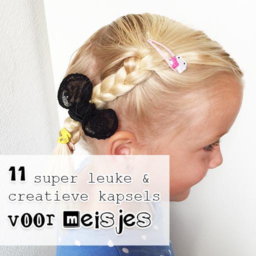 11x de leukste kapsels voor meisjes om zelf te maken