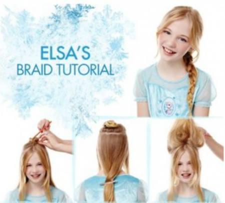 Frozen Elsa haar