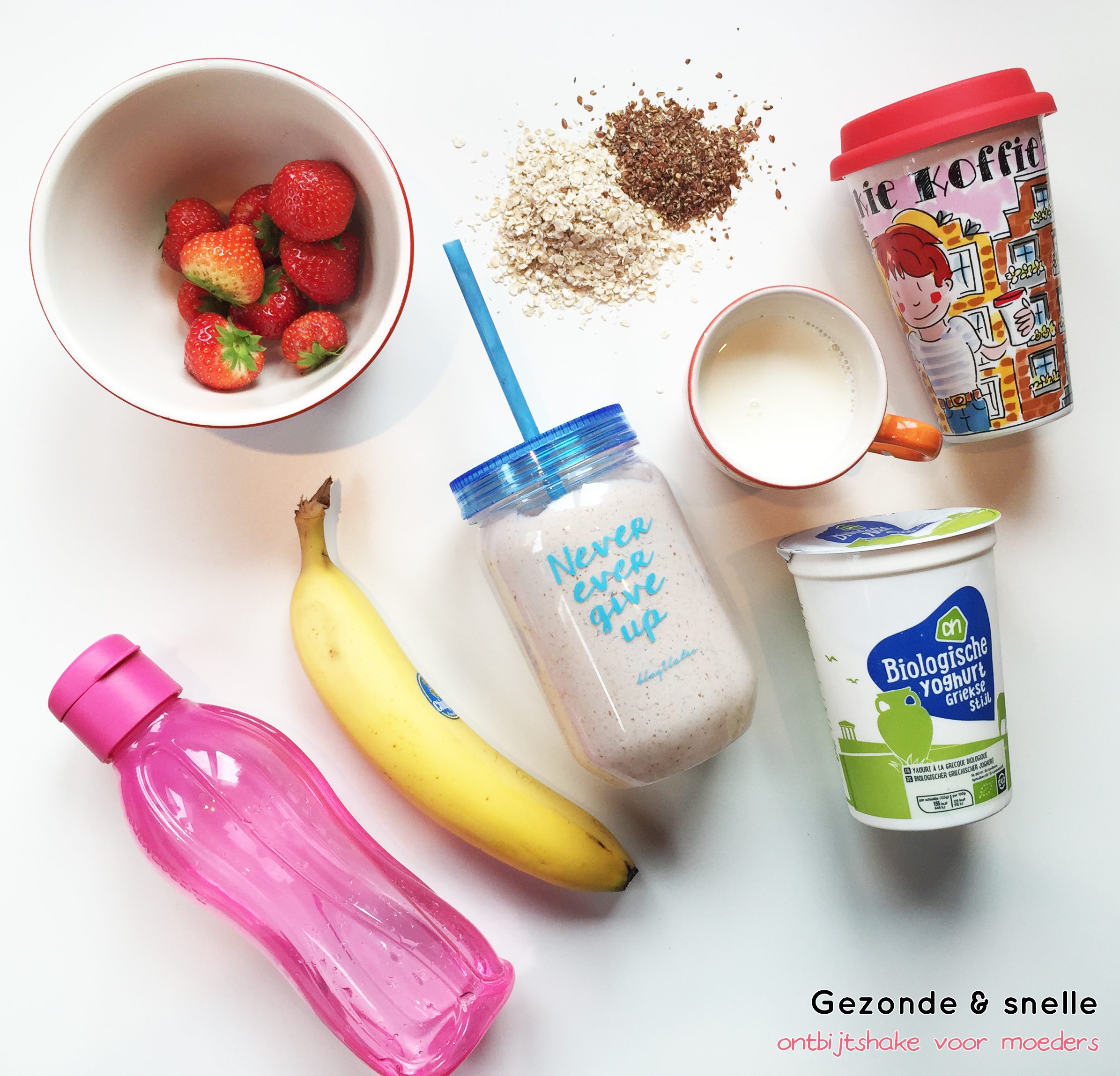 Snelle en gezonde ontbijtshake