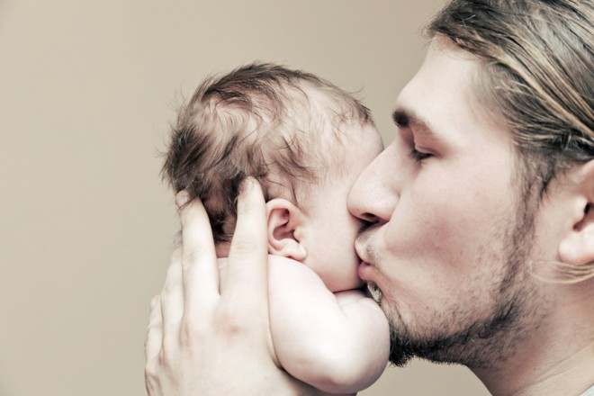 Smeltfactor papa en baby