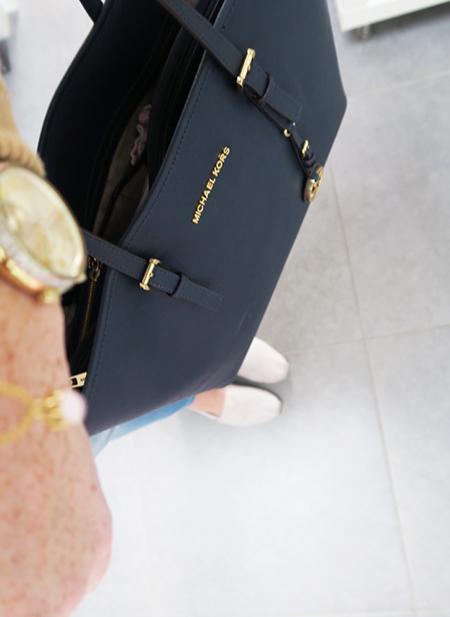 Michael Kors handtas en horloge