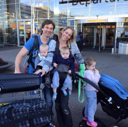 Nicolette Kluijver en gezin naar Mauritius