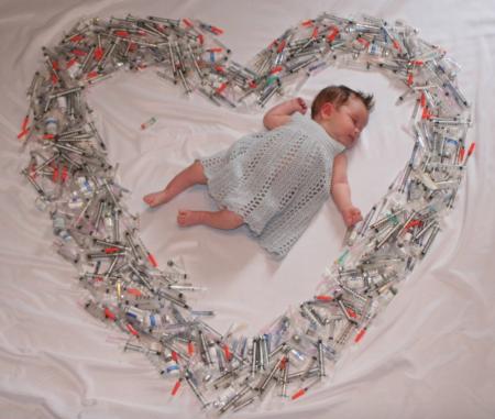 Zwanger door veel hormoonspuiten en ivf