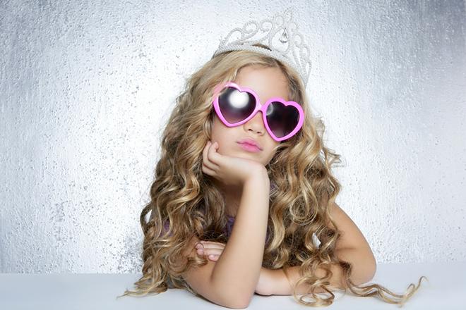 Prinsessengedrag bij meisjes