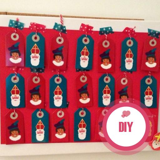 Geen vragen meer met deze DIY Sinterklaas aftelkalender