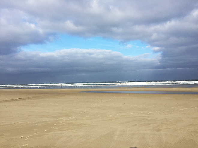 Het strand van Terschelling