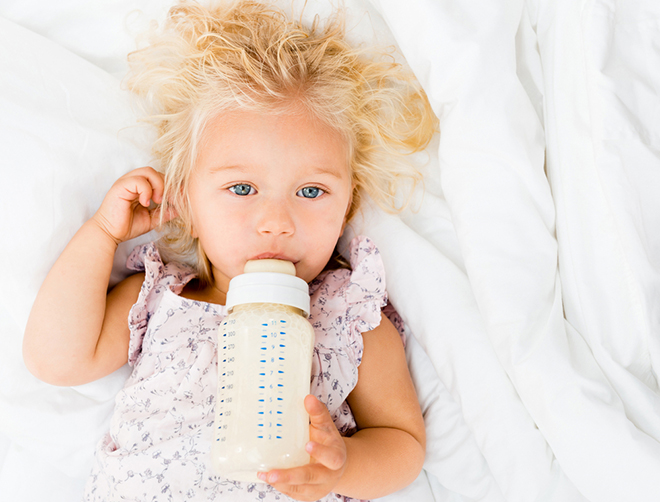 flesvoeding kinderen