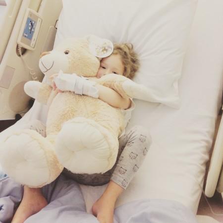 Lotte in het ziekenhuis