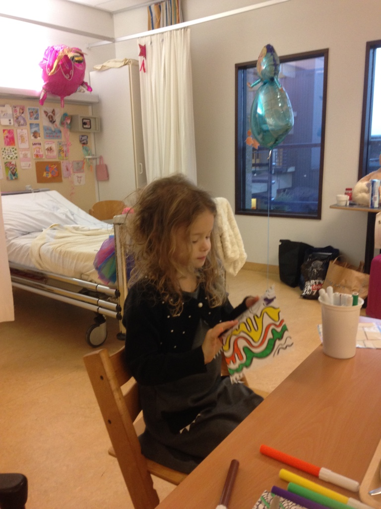 Lotte's ziekenhuisavontuur - systemische jeugdreuma