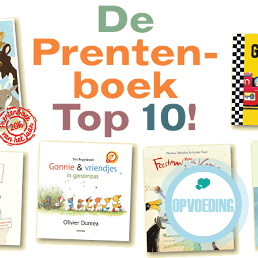 De top 10 prentenboeken om voor te lezen