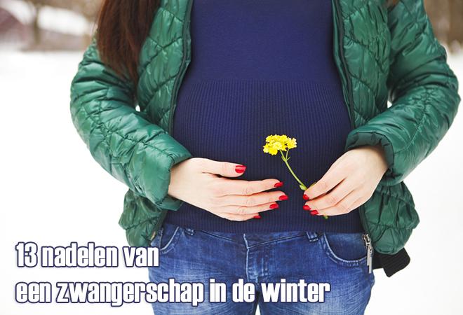 Zwanger in de winter