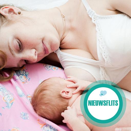 Rake klappen bij borstvoedingscolumn Sofie van den Enk