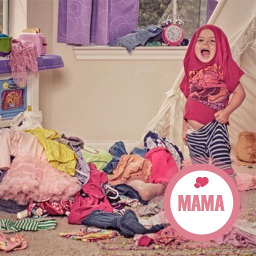 Je weet dat je een chaotisch-LOMPE mama bent als…