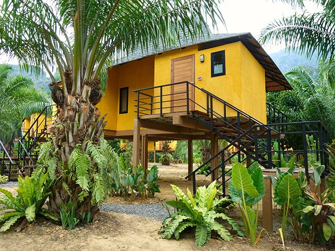 Anurak Community Lodge in de jungle van Khao Sok