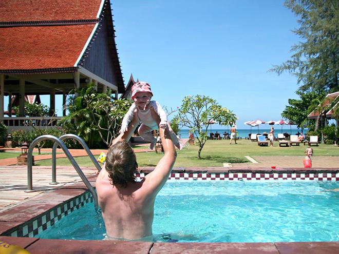 Strandbungalow op Koh Lanta
